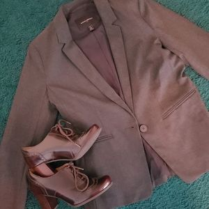 NWOT Banana Republic gray blazer